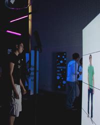 Die Installation war im Sommer 2011 an der HdM zu sehen