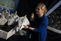 Die Verpackungstechniker haben eigene Raumschiffe gebaut