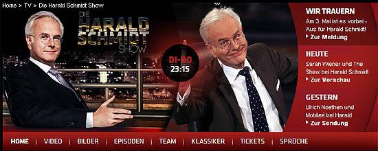 Screenshot: www.schmidt.de