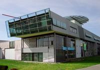 Der Ort der Verranstaltung: Die HdM in der Nobelstraße