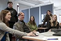 Im Design Center wurden Projekte aus dem Bereich Usability und Interaktionsdesign vorgestellt
