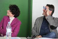 Prof. Dr. Petra Grimm und Prof. Dr. Michael Müller