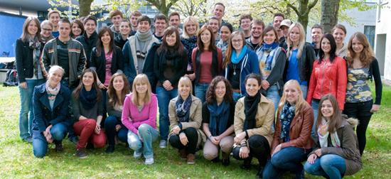 Das Team der MEDIA LOUNGE im Sommersemester 2012