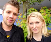 "Patrick Mai und Ina Hampp aus dem ""Think Tank"""