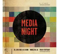 Die Layout-Idee zur MediaNight ist von Karolina Wojtaszek
