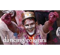 """Ein Film beschreibt das Farb-Fest """"Holi"""""""