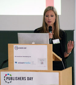 Mediapublishing-Alumna Sonja Stein (Foto: lk039)
