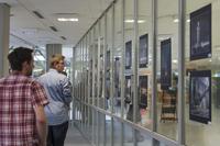 Stuttgart-Bilder waren in der Bibliothek zu sehen