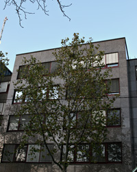 Die Hochschule der Medien in der Wolframstraße