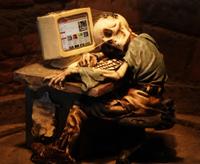 PC- und Internetsucht (Foto: Harry Hautumm  / pixelio.de)