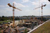 Das Gebäude für die Fakultät Information und Kommunikation wächst