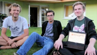 Das Team: Michiel, Hugo, Jan (v.l.n.r.), Foto: tos-dr.info