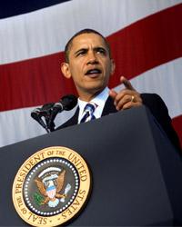 Barack Obama, 44. Präsident der USA, Foto: Wikimedia