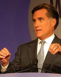 Mitt Romney, der republikanische Herausforderer, Foto: Wikimedia