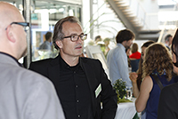 Alumni Dr. Volker Klenk sorgte mit seinem Fachvortrag für Diskussionen.