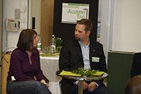 Susanne Albrecht und Jörg Manthey geben ihre beruflichen Erfahrungen an Studenten weiter.