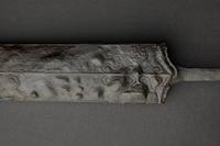 In einem speziellen Aufnahmeverfahren digitalisiert: das Keltenschwert aus einem Grab bei Giengen a.d. Brenz