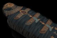 Für die Ägypten-Ausstellung wurde das Perlennetz von El Hibe digitalisiert