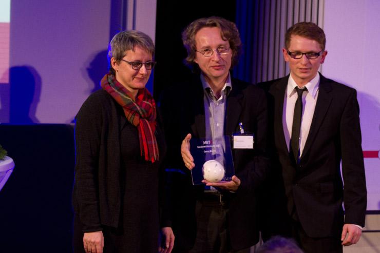 Silke Krebs, Georg Blume, Benjamin Lang (v.l.n.r.)