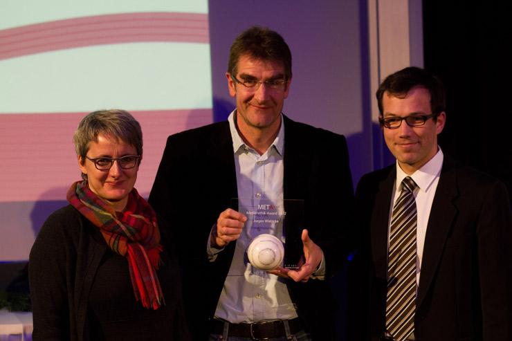 Silke Krebs, Jürgen Wiebicke, Moritz Wacker (v.l.n.r.)