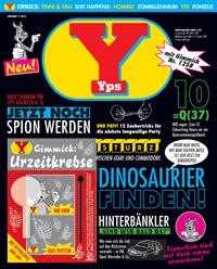 """Das neue """"Yps""""-Heft war schnell ausverkauft, Foto: Cover"""