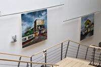 Die Ausstellung im Foyer der HdM
