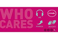 """""""WHO CARES"""" – jung, dynamisch, engagiert. So lautet das Thema des diesjährigen Talks."""