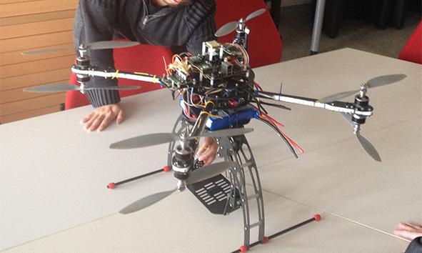 Werbekampagnen mit Drohnen und Flying Robots