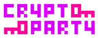 Das Logo der CryptoPartys, Foto: CryptoParty.org