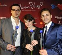 """Team """"Eine Nacht"""": Tobias Licht, Julia Becker und Stefan Najib (rechts, Fotos: Romance TV)"""