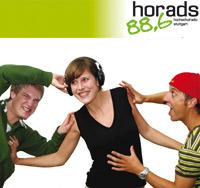 """Das Hochschulradio """"horads"""" sendet aus der HdM, Foto: www.horads.de"""