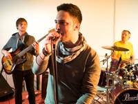 Immer beliebt auf der Medianight: Die HdM-Band, Foto: Hannes Buchwald.