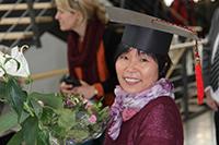 Geschafft: Hongzhen Diao hat ihre Promotion abgeschlossen