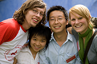 An der HdM betreut Hongzehn Diao unter anderem die Studenten der Doppelstudiengänge
