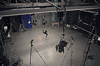 Das Motioncapture-Studio der HdM