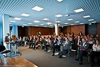Der Veranstaltungsort: Das Geno-Haus in Stuttgart