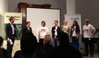 Beim MfG-Talente-Tag wurden die beiden Gewinner-Teams der HdM geehrt.