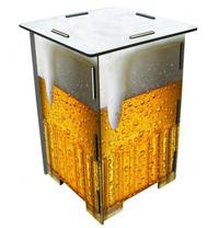 Der Bierhocker kann auch als Beistelltisch genutzt werden, Foto: http://www.bierfritze.de