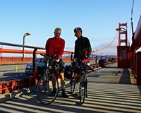 Das große Ziel: Die Golden Gate Bridge.