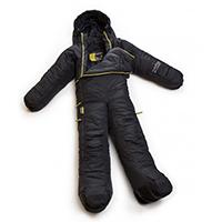 Mit dem Ganzkörperschlafanzug ist es überall warm und kuschelig, Quelle: http://www.radbag.de/musucbag.