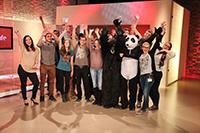 Die Macher des Studentenfernsehens waren zu Gast bei ProSieben