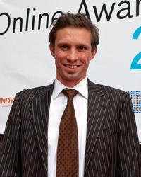 Florian Hager, stellvertretender Programmchef von ARTE verknüpft TV und Social Media. Foto: Jens Becker/lensemann.de