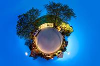 Eine 360°-Ansicht der HdM