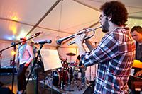 Musik gab es auch: Dafür sorgte die HdM-Band mit verschiedenen Formationen.