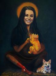 So stellt sich der Maler Kaya Mar Kate mit Baby vor, Quelle: http://i.huffpost.com/gen/1182560/thumbs/o-KAYA-MAR-570.jpg?1