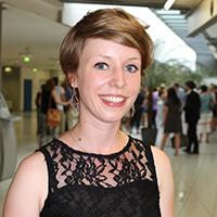 Katrin Espelage hat nach ihrem Bachelorstudium in Werbung und Marktkommunikation in einer Agentur angefangen.