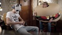 Sänger Cro und Joko Winterscheidt als Hamburger (Foto: McDonald's Deutschland)
