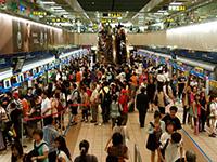 So sieht U-Bahn fahren in Taipeh aus...