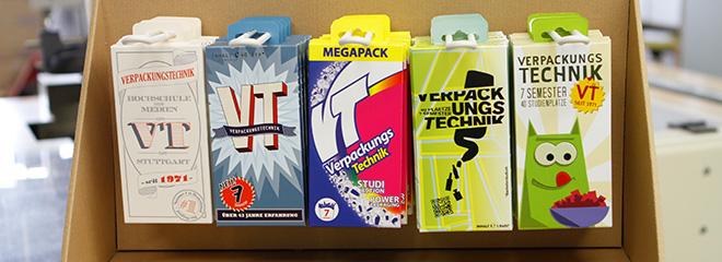 Verpackung mal anders: Die fünf neuen Teaser für den Bachelorstudiengang Verpackungstechnik.