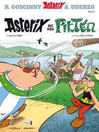 So sieht er aus, der neue Band: Asterix bei den Pikten. Foto: Egmont Ehapa Verlag Berlin
